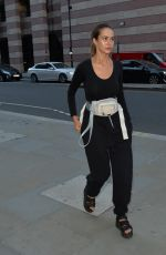 BETHAN WRIGHT Leaves The Ned Hotel in London 07/21/2019