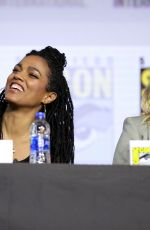 BETTY GILPIN at Women Who Kick Ass Panel at Comic-con International 2019 in San Diego 07/20/2019