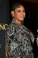 BEYONCE at The Lion King Premiere in Hollywood 07/09/2019