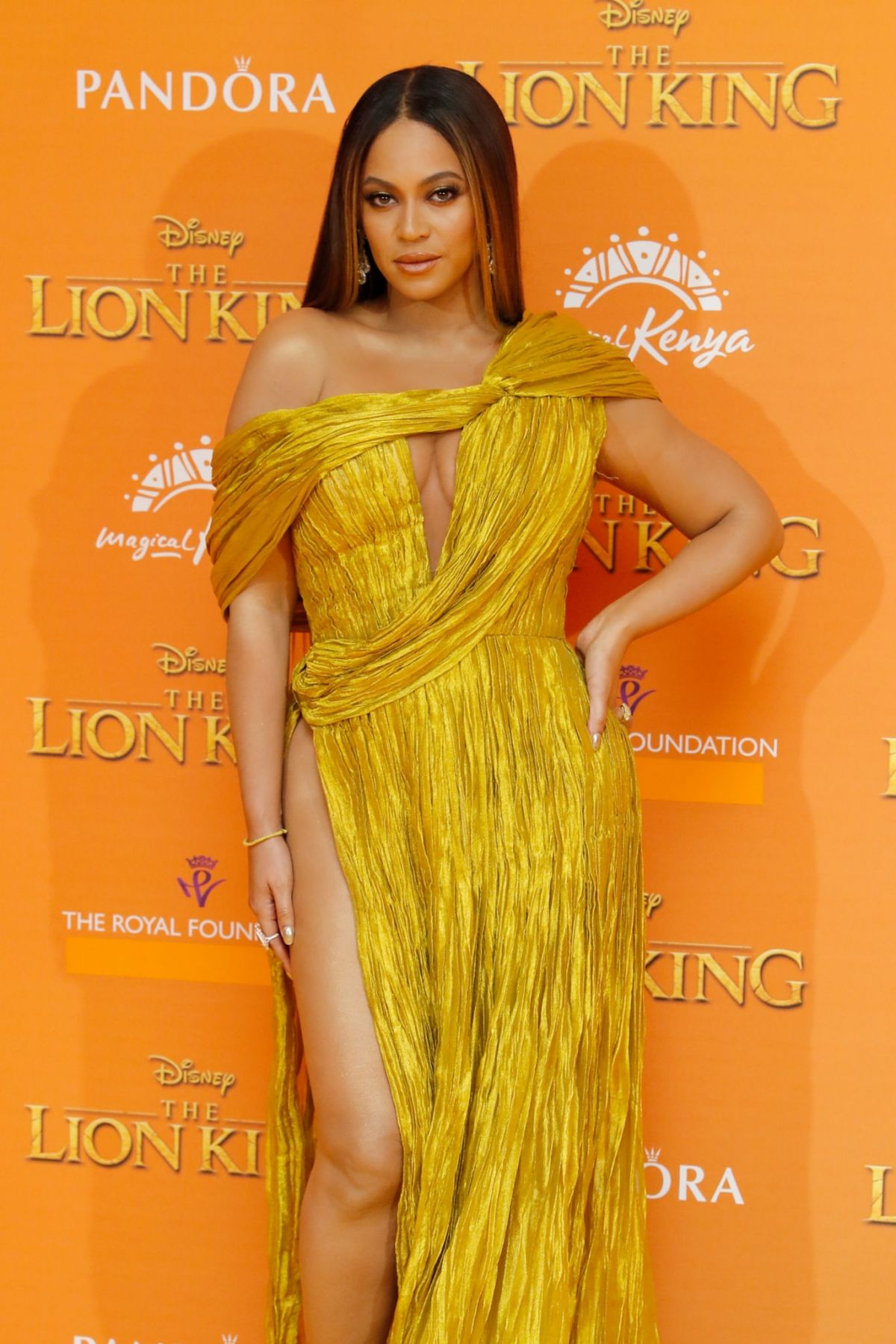 Beyonce At The Lion King Premiere In London 07 14 2019