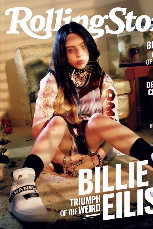 BILLIE EILISH for Rolling Stone Magazine, August 2019