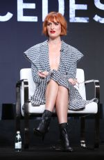 BREEDA WOOL at Mr. Mercedes Panel at TCA Summer Tour in Los Angeles 07/23/2019