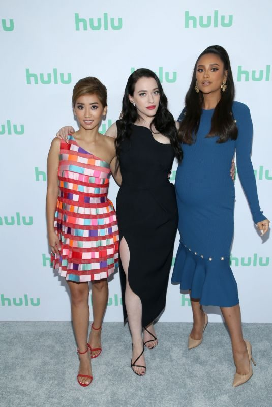 BRENDA SONG, KAT DENNINGS and SHAY MITCHELL at Hulu 2019 Summer TCA Press Tour in Beverly Hills 07/26/2019
