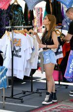 BRENDA SONG Shopping at Flea Market in Los Angeles 07/16/2019