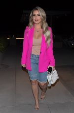 BRIELLE BIERMANN Night Out in West Hollywood 07/16/2019