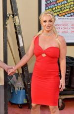 BRITNEY SPEARS at Once Upon A Time in Hollywood Premiere in Los Angeles 07/22/2019
