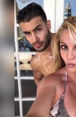 BRITNEY SPEARS in Bikini - Instagram Photos and Video 07/18/2019