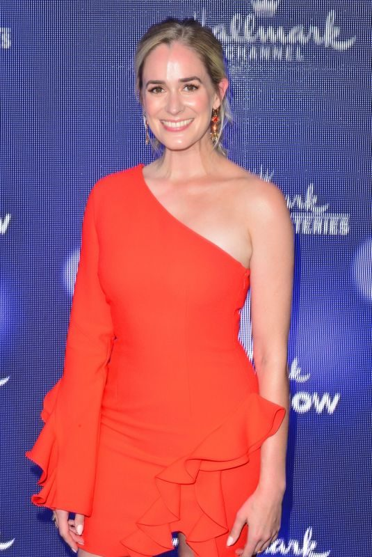 BRITTANY BRISTOW at Hallmark Movies & Mysteries 2019 Summer TCA Press Tour in Beverly Hills 07/26/2019