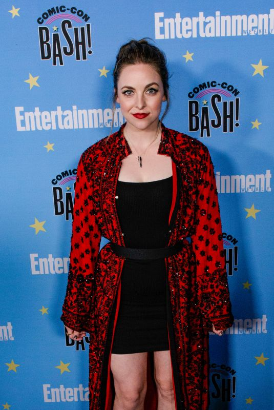 BRITTANY CURRAN at Entertainment Weekly Party at Comic-con in San Diego 07/20/2019
