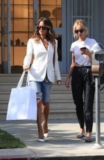 BROOKE BURKE Out Shopping in West Hollywood 07/09/2019