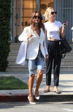 BROOKE BURKE Shopping at Bottega Veneta in West Hollywood 07/09/2019