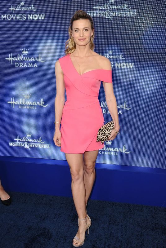 BROOKE D'ORSAY at Hallmark Movies & Mysteries 2019 Summer TCA Press Tour in Beverly Hills 07/26/2019