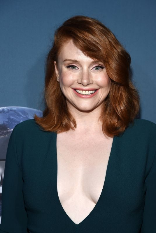 BRYCE DALLAS HOWARD at Jurassic World: The Ride Opening at Univeral Studios in Hollywood 07/22/2019