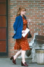 BRYCE DALLAS HOWARD Leaves Bowery Hotel in New York 07/25/2019