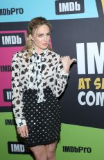 CAITY LOTZ at #imdboat at 2019 Comic-con in San Diego 07/19/2019