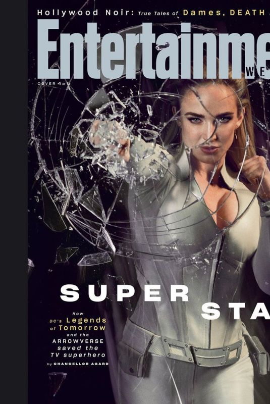CAITY LOTZ in Entertainment Weekly Magazine, August 2019