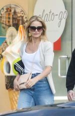 CAMERON DIAZ and Benji Madden Leaves Urth Caffe in Beverly HIlls 07/30/2019
