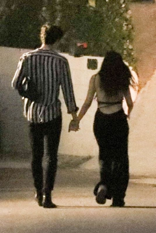 CAMILA CABELLO and Shawn Mendes Night Out in West Hollywood 07/04/2019