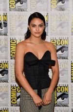CAMILA MENDES at Riverdale Photocall at Comic-con International in San Diego 07/21/2019