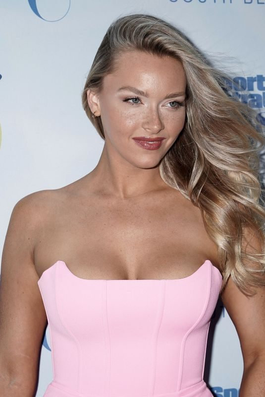 CAMILLE KOSTEK at 2019 Sports Illustrated Swimsuit Show at Miami Swim Week 07/14/2019