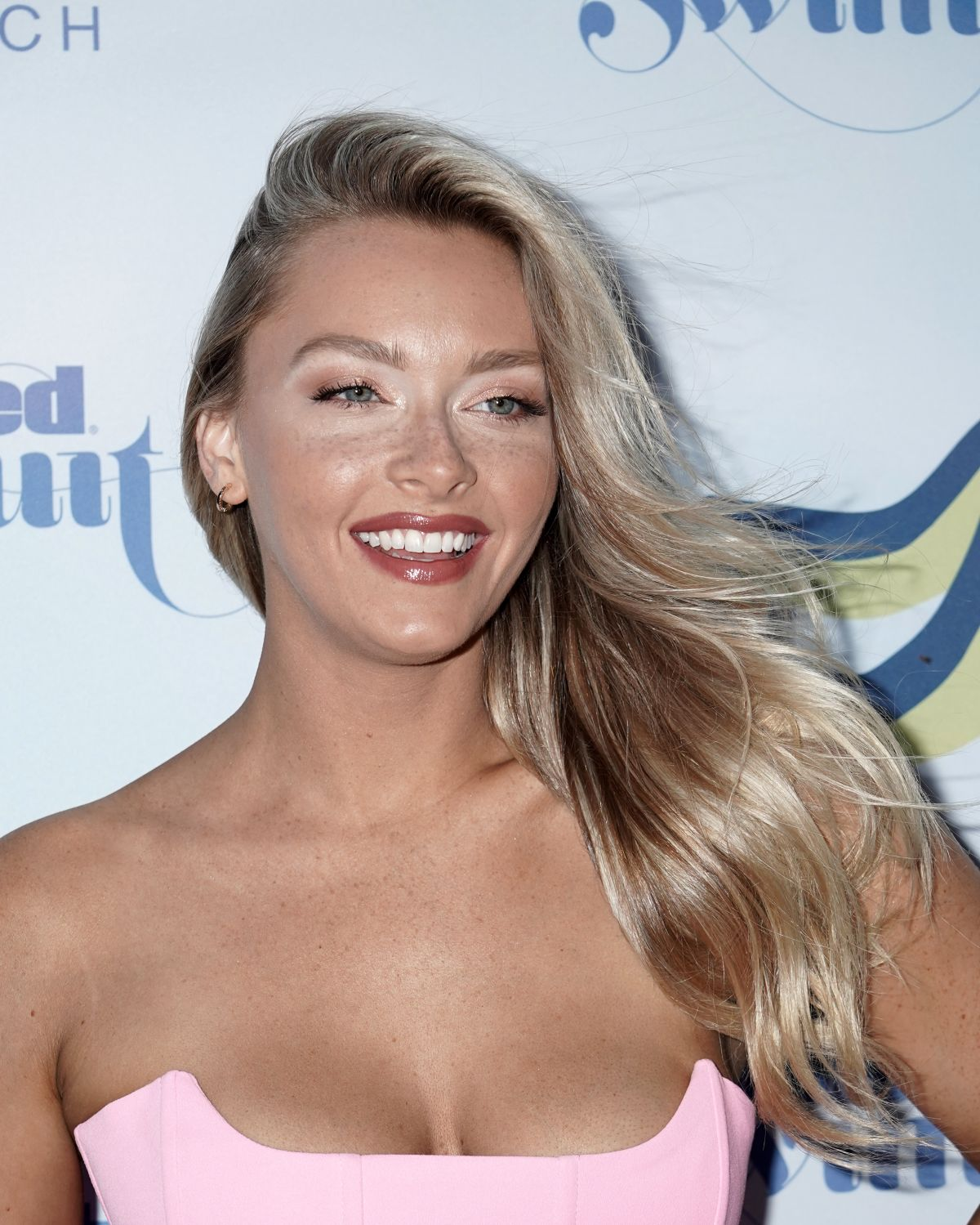 Camille Kostek Swkmsuit: CAMILLE KOSTEK At 2019 Sports Illustrated Swimsuit Show At