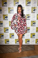 CANDICE PATTON at The Flash Photocall at San Diego Comic-con 07/20/2019