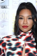 CANDICE PATTON at The Flash Press Line at Comic-con in San Diego 07/20/2019