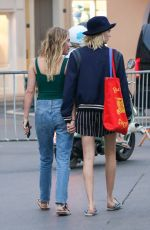 CARA DELEVINGNE and ASHLEY BENSON Out in Saint Tropez 07/08/2019