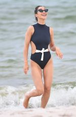 CARA SANTANA and NICOLE WILLIAMS in Bikinis at a Beach in Miami 07/13/2019