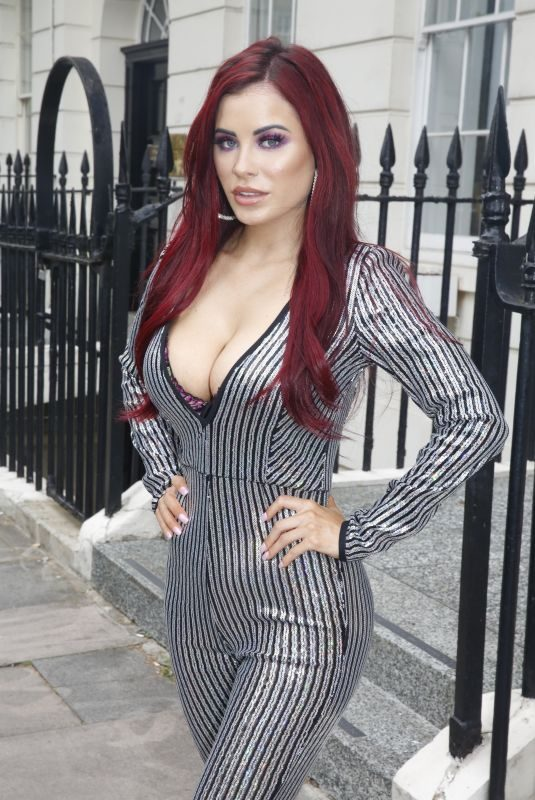 CARLA HOWE Out and About in London 07/18/2019