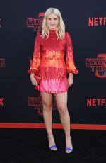 CAROLINE ARAPOGLOU at Stranger Things, Season 3 Premiere in Santa Monica 06/28/2019