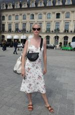 CAROLINE WINBERG Out and About in Paris 06/30/2019