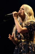 CARRIE UNDERWOOD Performs at Grand Ole Opry in Nashville 07/19/2019