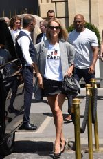 CELINE DION Out and About in Paris 07/03/2019
