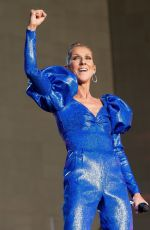 CELINE DION Performs at Barclay