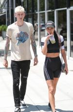 CHANTEL JEFFRIES at Toast in West Hollywood 07/16/2019