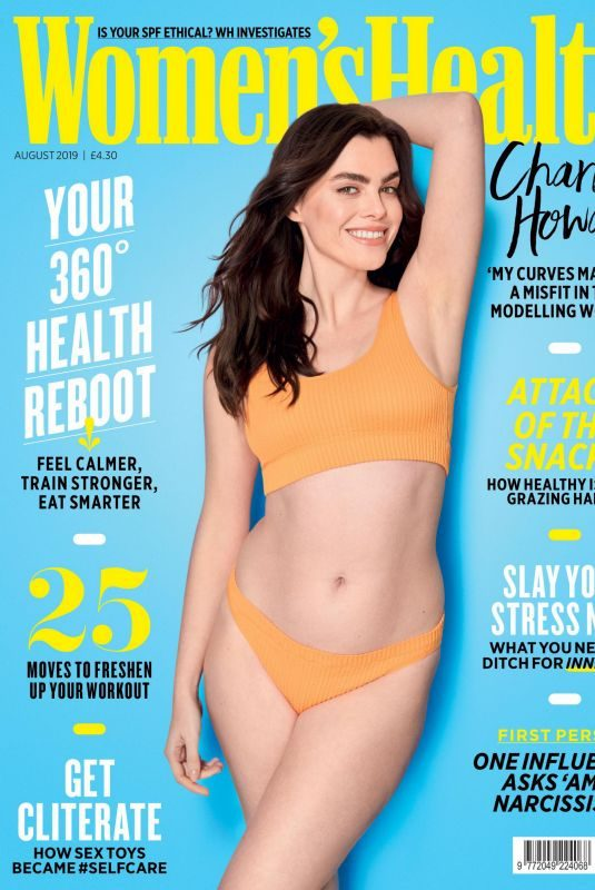 CHARLI HOWARD in Women's Health Magazine, UK August 2019