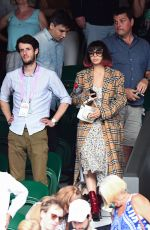 CHARLI XCX at Wimbledon 2019 Tennis Championships in London 07/06/2019