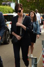 CHARLIZE THERON at 2019 Wimbledon Tennis Championships  Men