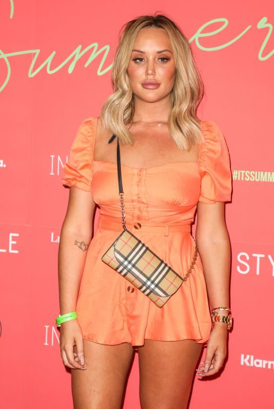 CHARLOTTE CROSBY at In the Style Summer Party at Libertine in London 07/25/2019