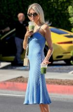 CHARLOTTE MCKINNEY Leaves Cha Cha Matcha in West Hollywood 07/26/2019
