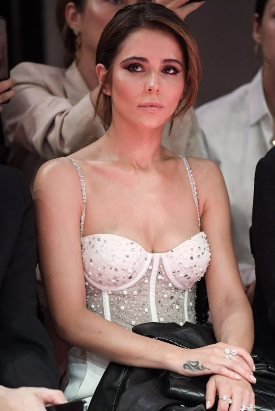 CHERYL COLE at Georges Hobeika Couture Fashion Show in Paris 07/01/2019