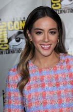 CHLOE BENNET at Agents of S.H.I.E.L.D. Panel at 2019 Comic-con in San Diego 07/18/2019