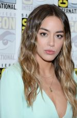 CHLOE BENNET at Agents of S.H.I.E.L.D. Photocall at Comic-con 2019 in San Diego 07/19/2019