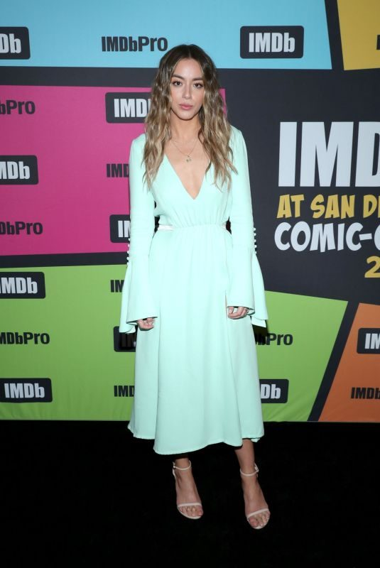CHLOE BENNET at #imdboat at 2019 Comic-con in San Diego 07/19/2019