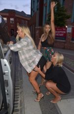 CHLOE FERRY on the Set of Geordie Shore in Newcastle 07/05/2019