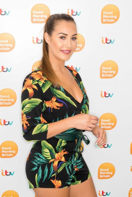 CHLOE GOODMAN at Good Morning Britain Show in London 07/16/2019