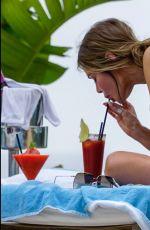 CHLOE SIMS in Bikini at a Pool in Ibiza 07/07/2019