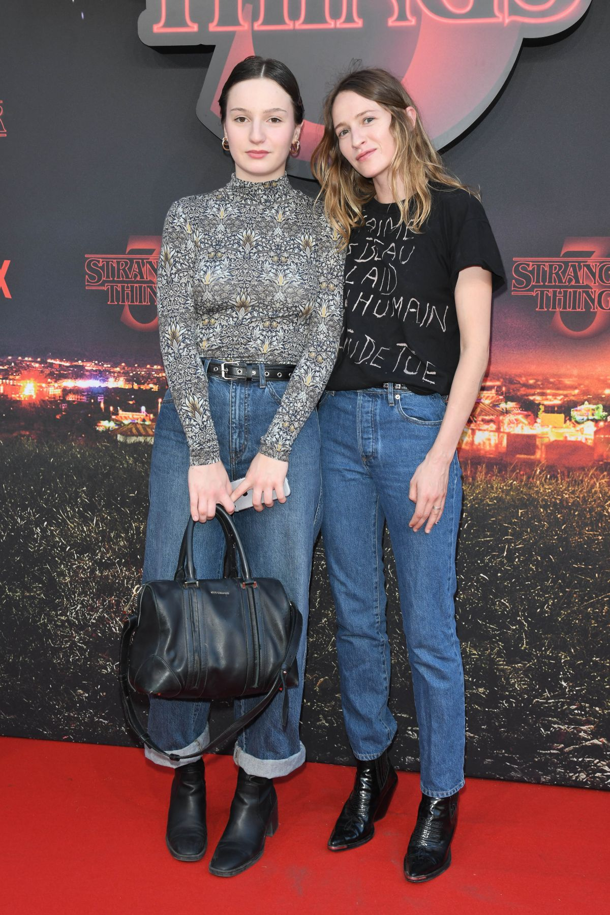 CHRISTA THERET at Stranger Things, Season 3 Premiere in Rome