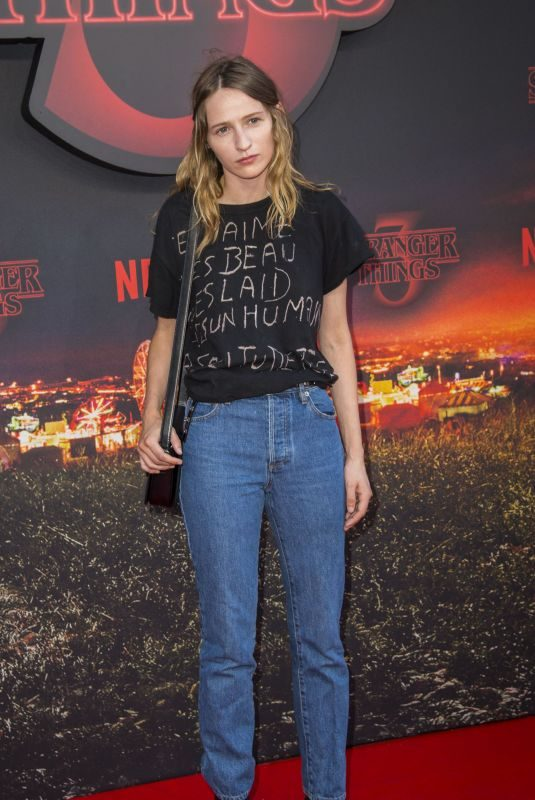 CHRISTA THERET at Stranger Things, Season 3 Premiere in Rome 07/06/2019